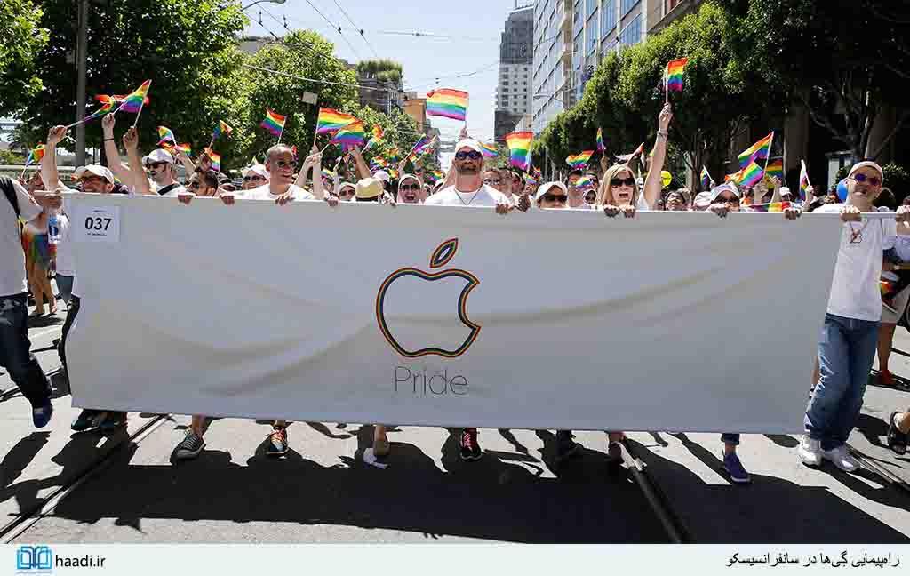 پشت پرده اپل